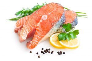 salmon and fish