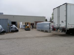 2nd delivery of refrigerators from Quebec May 22nd