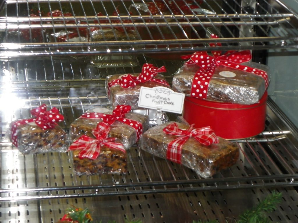 Storemade fruit cake, gumdrop cake and carrot puddings were wildly popular for Christmas 2014 at Paisley freshmart