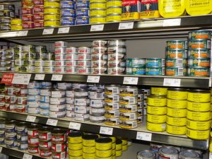 Canned Fish and Meat