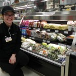 Kate loves to experiment with new salads and sandwiches