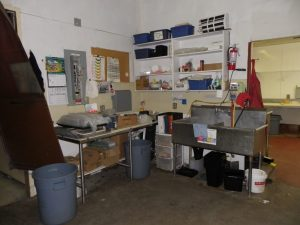 produce area before the renovation