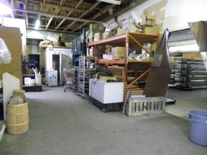 back storeroom before the reno