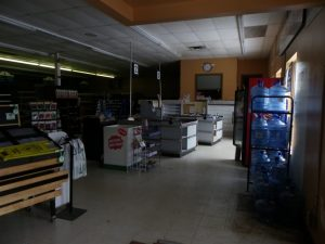 cashier area before the renovation