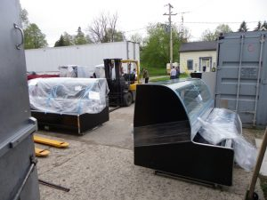 second load of new refrigerators from Quebec
