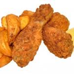 fried chicken & wedge