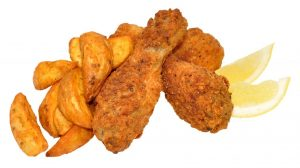 Lunch: Chicken Pieces & Wedges