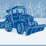 snow plowingin Paisley