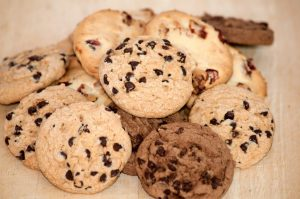 fresh baked cookies and treats at our bake shop