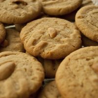 Chewy Peanut Butter Rye Cookies