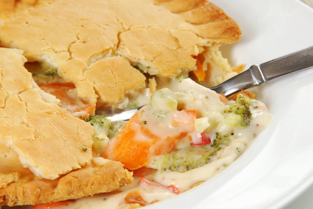 chicken pot pie storemade at Paisley freshmart
