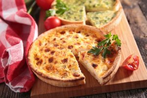 Lunch: Quiche & Salad