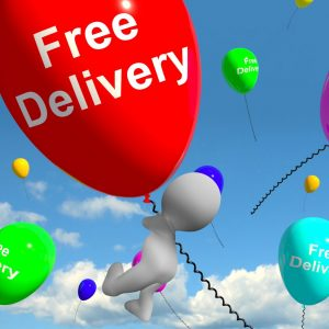 free delivery in Paisley