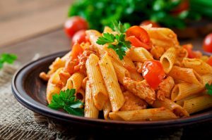 Lunch:  Sausage Penne Casserole