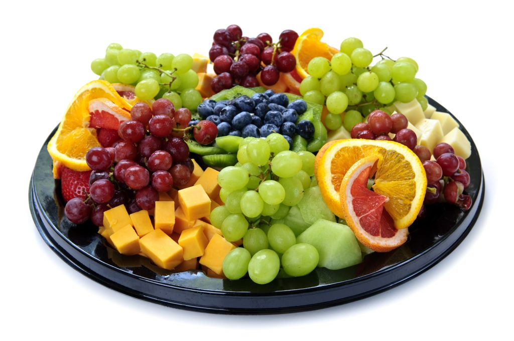 fruit tray from Paisley freshmart