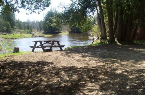 Saugeen Valley Conservation Campground site
