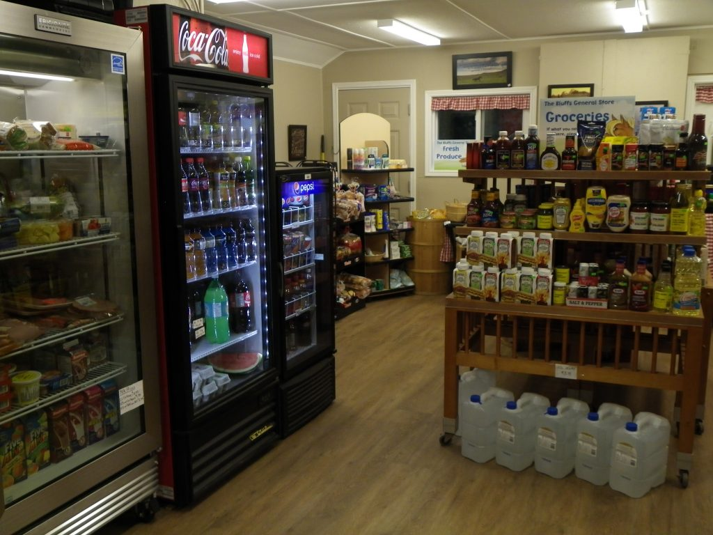 Inside the Bluffs General Store